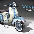Vespa Sprint 150 by Tony  Newland