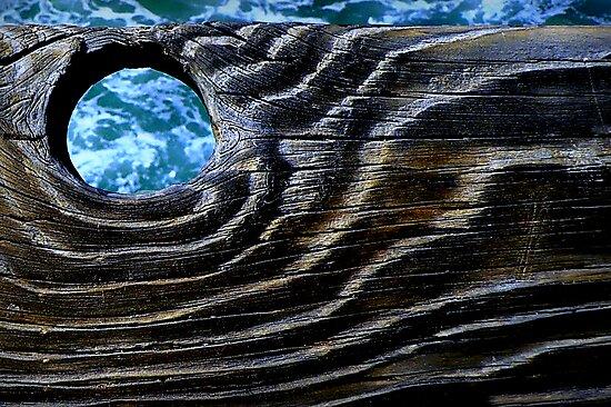 Umber Waves of Grain by paintingsheep