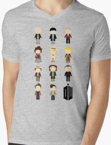 Eleven Doctors Mens V-Neck T-Shirt