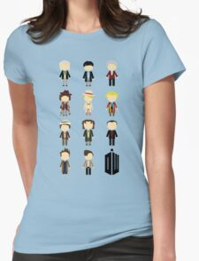 Eleven Doctors Womens Fitted T-Shirt