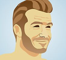 David Beckham - football star by mikath