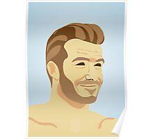 David Beckham - football star Poster