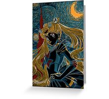 Usagi and the Starry Night Greeting Card