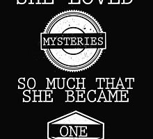 She Loved Mysteries by Alyssa Clark