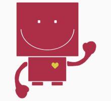 Robot Hearts You Kids Tee