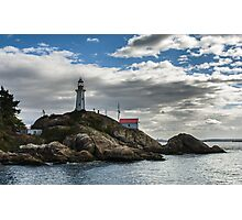 Lighthouse1, British Columbia coastal view Photographic Print
