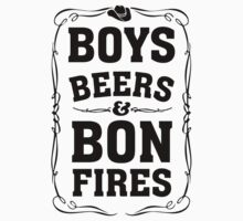 Boys Beers & Bonfires by Look Human