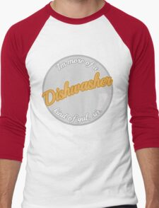 Dishwasher girls Men's Baseball ¾ T-Shirt