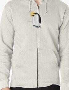Emperor Penguins Zipped Hoodie