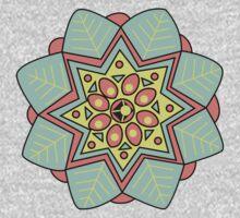 Sympl mandala t-shirt by Niko Hoekzema