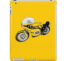Ducati 350 illustrations by Anthony Armstrong iPad Case/Skin
