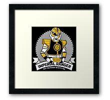 Imperial Ranger Framed Print