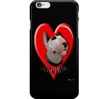 LOVE for my Bull Terrier iPhone Case/Skin