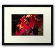 Whirling Temple Dogs Framed Print