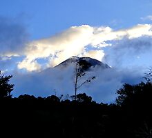Quiet Tungurahua Volcano In Ecuador by Al Bourassa
