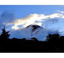 Quiet Tungurahua Volcano In Ecuador Photographic Print