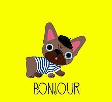 Bonjour little Frenchie! by BonniePortraits