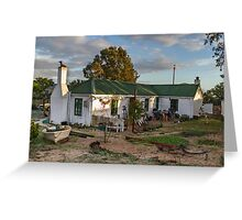 Traditional Fisherman's Cottage  Greeting Card