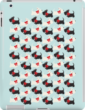 Scottie Dog iPhone/iPod case – blue by BonniePortraits