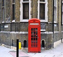 London Phone Booth by Alex Rentzis