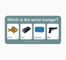 Alan Partridge - Which is the worst Monger? by chubbyblade