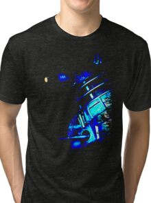 Dalek Beta – Blue Tri-blend T-Shirt