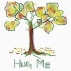 HUG ME/AUTUMN TEESHIRT/KIDS TEE/BABY GROW/STICKER by Shoshonan