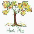 HUG ME/AUTUMN TEESHIRT/KIDS TEE/BABY GROW/STICKER by Shoshonan