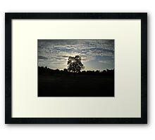Silent Sunrise Framed Print