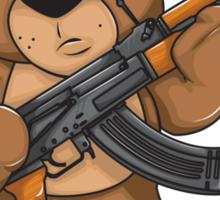 Killer Teddy Sticker