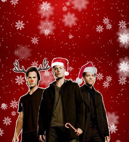 A Supernatural Christmas Sticker