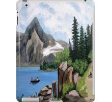 Mountain landscape 2 iPad Case/Skin