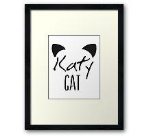 KatyCat  Framed Print