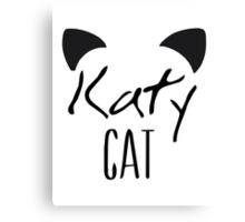 KatyCat  Canvas Print
