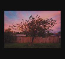 Tree Sunset in Poatina Kids Tee