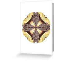Kaleidoscope Milkweed Greeting Card