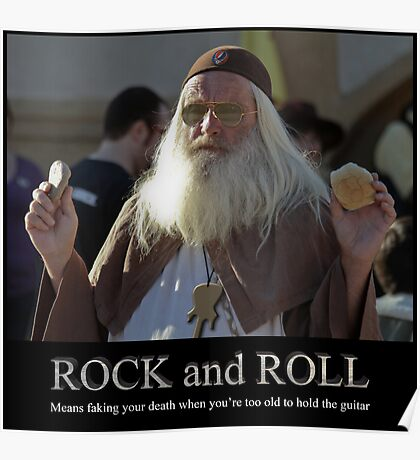 Rock and Roll Poster