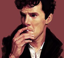 Benedict Cumberbatch digital portrait by Ree-sah