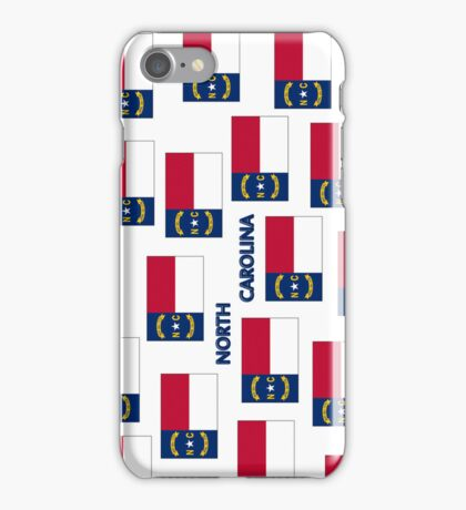 Smartphone Case - State Flag of North Carolina - Named V iPhone Case/Skin