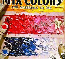 How To Mix Colors by WhiteDove Studio kj gordon