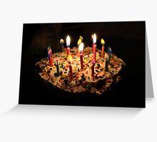Cake Cake Cake Cake Cake Cake Cake Greeting Card