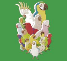 Parrot Party Kids Tee