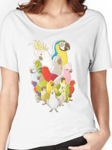 Parrot Party Women's Relaxed Fit T-Shirt