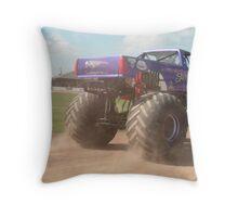 Monster truck Throw Pillow