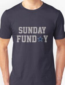 Dallas Sunday Gray Unisex T-Shirt