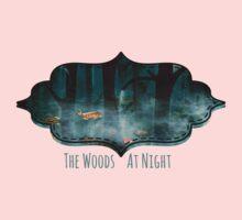 The Woods at Night Kids Tee