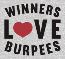 Winners Love Burpees by Look Human