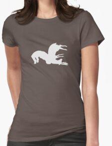Deer suplex 2 Womens Fitted T-Shirt