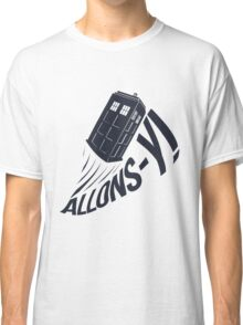 """Allons-y !"" - The Doctor Classic T-Shirt"