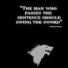 Game of Thrones - House Stark - Eddard Stark by Wiggamortis